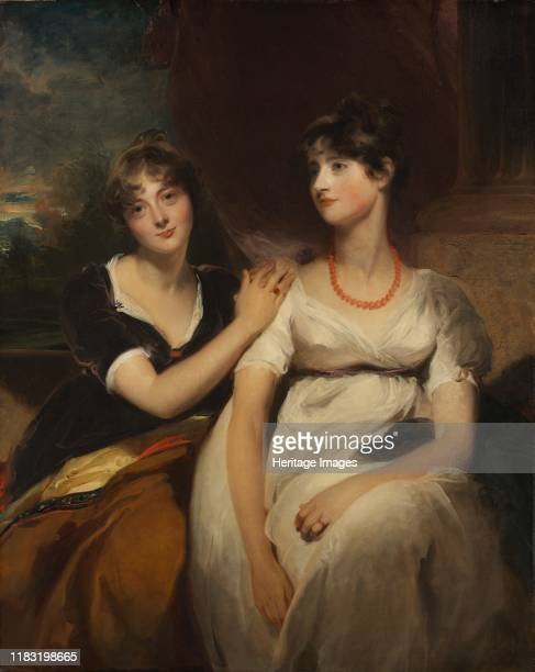 Portrait of Charlotte and Sarah CarteretHardy 1801 Charlotte Savery CarteretHardy and Sarah CarteretHardy were the daughters of LieutenantColonel...