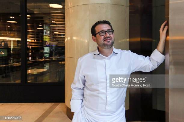 Portrait of chef Frederick Chabbert from Mano at L Place Central 18JUL14 [JUL2014 BROADSHEET FOOD WINE]