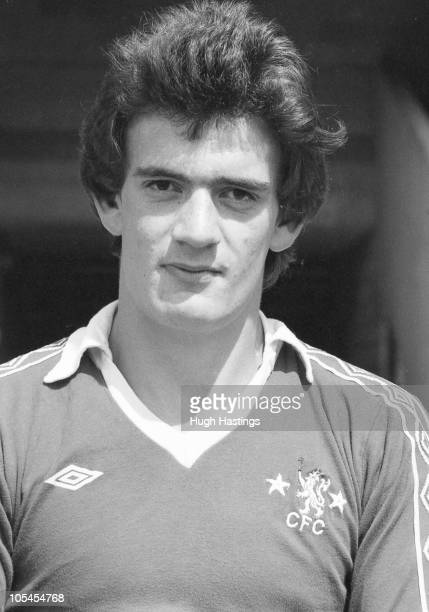 Portrait of Chelsea player John Sitton.