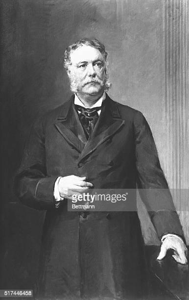 Portrait of Chester Arthur twentyfirst President of the United States Painting by Ernest Ipsen