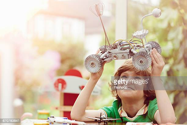 portrait of child being creative and making things - smart stock pictures, royalty-free photos & images