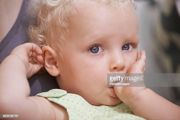 Portrait of child innocence