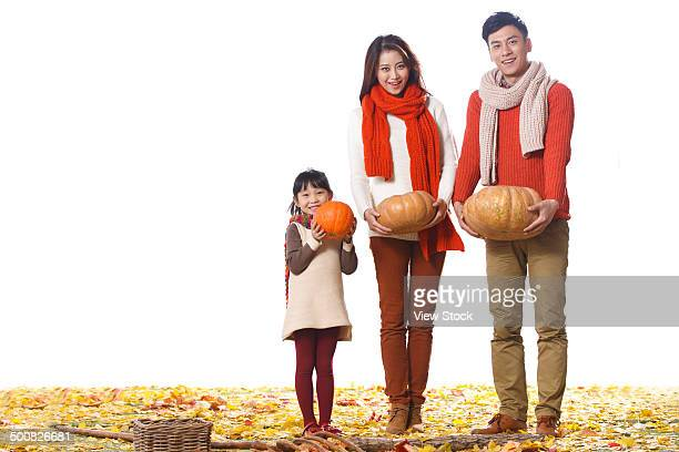 Portrait of Chinese family