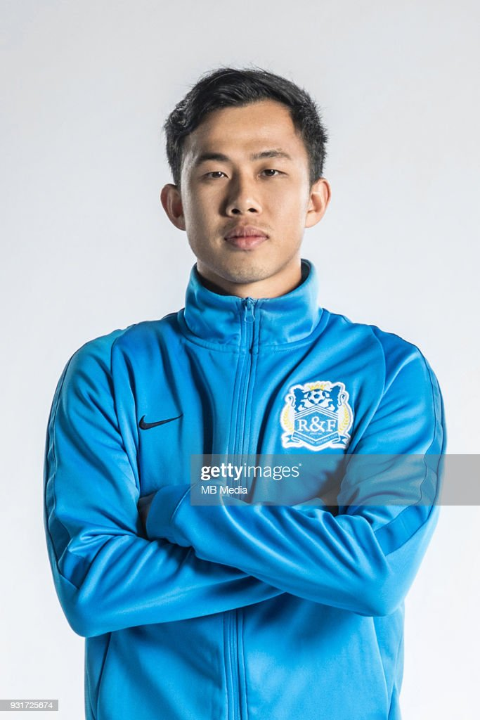 Official portraits of Guangzhou R&F F.C. for the 2018 Chinese Super League : News Photo