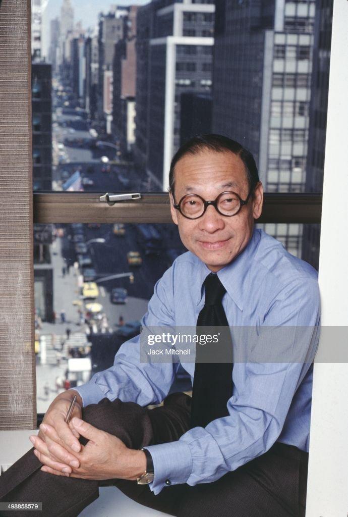 Portrait Of IM Pei : News Photo