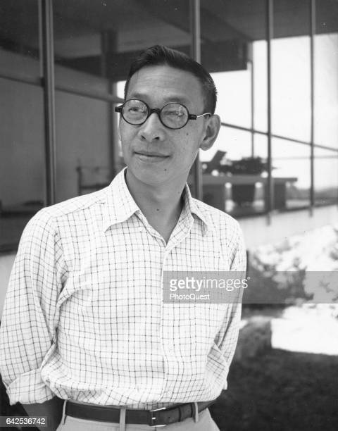Portrait of Chineseborn American architect IM Pei New York New York September 1956