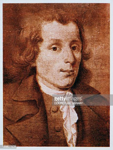 Portrait of Christian Gottlob Neefe German composer and conductor Ludwig Van Beethoven's teacher in piano organ and composition Bonn BeethovenHaus