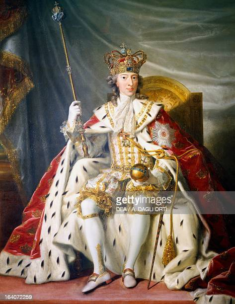 Portrait of Christian VII of Denmark King of Denmark and Norway oil on canvas Copenhagen Rosenborg Slot Danske Kongers Kronologiske Samling