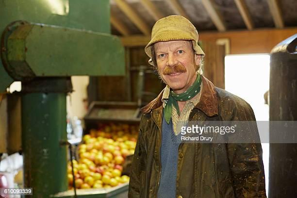 Portrait of cider maker