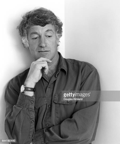 Portrait of cinematographer Roger Deakins in Hollywood
