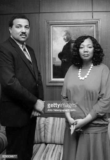 Portrait of civil rights activist Yolanda King 1980