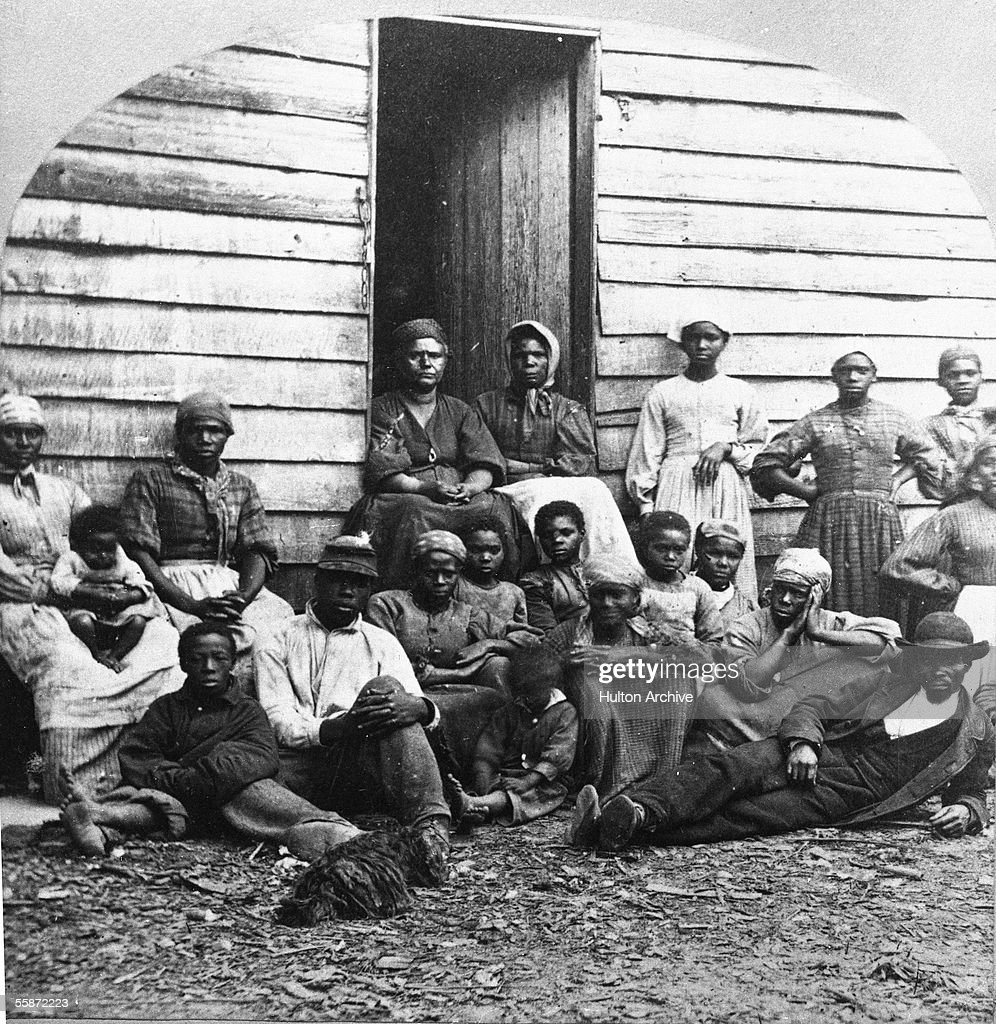 Civil War 'Contrabands' : News Photo