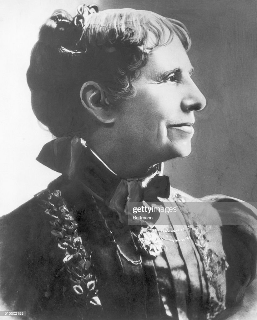 Profile Portrait Of Clara Barton Pictures Getty Images