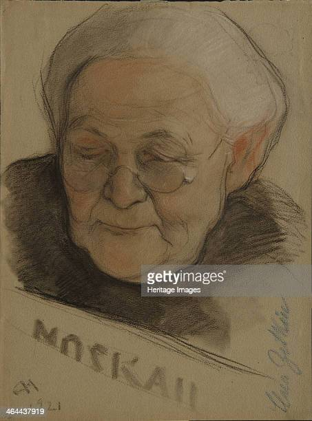 Portrait of Clara Zetkin 1921 Found in the collection of the State Tretyakov Gallery Moscow