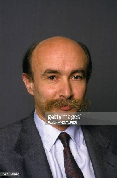 Portrait of Claude Malhuret on May 16 1987 in France