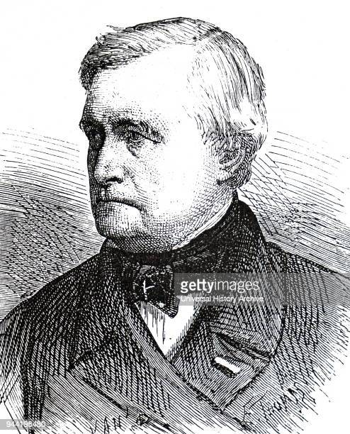 Portrait of Claude Pouillet a French physicist and a professor of physics at the Sorbonne and member of the French Academy of Sciences Dated 19th...