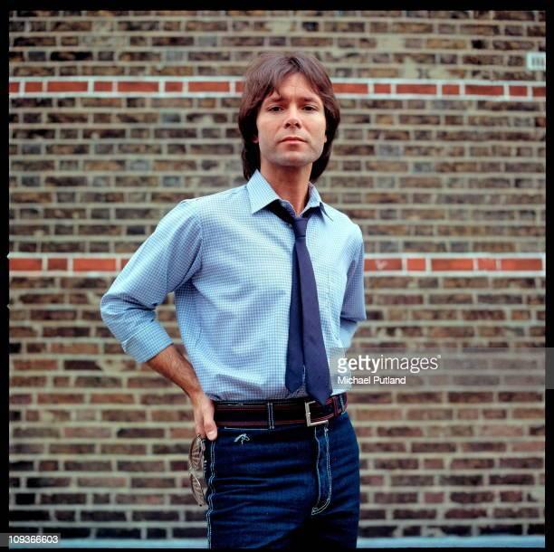A portrait of Cliff Richard London 1982