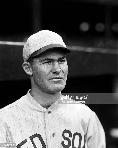 A portrait of Clifford W Garrison of the Boston Red Sox in 1928