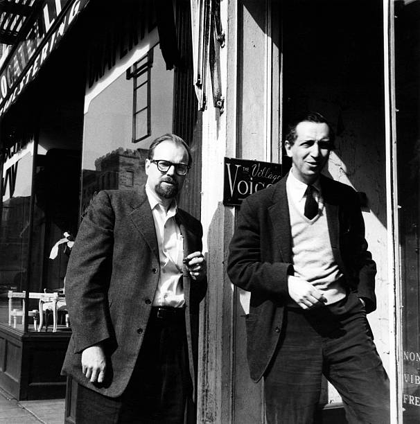 Fancher & Wolf Outside The Village Voice Wall Art