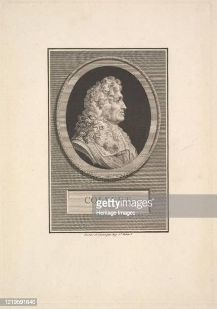 Portrait of Colbert, 1800. Artist Augustin de Saint-Aubin.