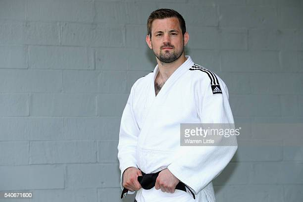 Portrait of Colin Oates of Great Britain during an announcement of judo athletes named in Team GB for the Rio 2016 Olympic Games at British Judo...