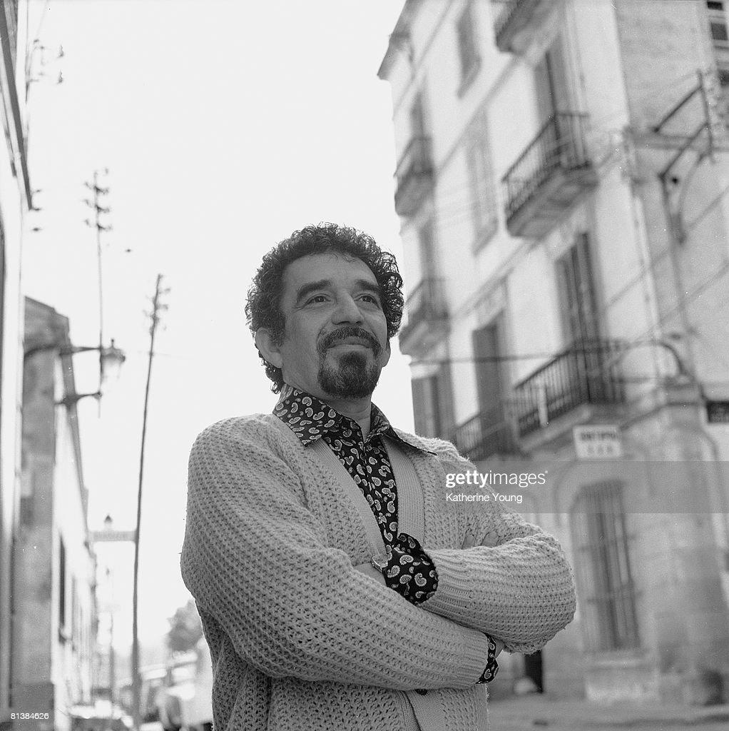 Portrait Of Gabriel Garcia Marquez : News Photo