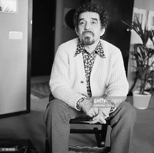 Portrait of Colombian author and journalist Gabriel Garcia Marquez May 1972