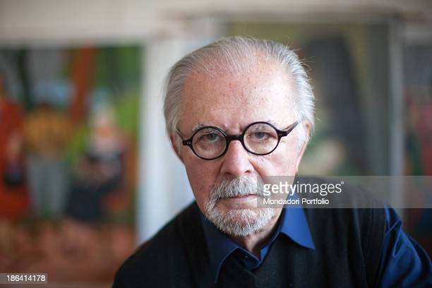 Portrait of Colombian painter and sculptor Fernando Botero Monte Carlo 15th March 2012