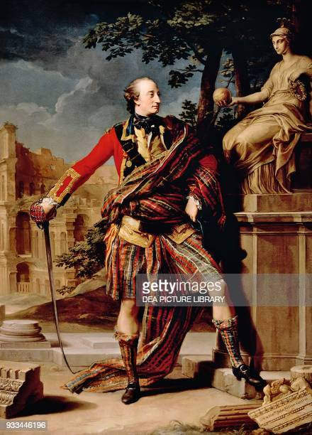 Portrait of Colonel William Gordon 17651766 by Pompeo Batoni oil on canvas 259x1875 cm Fyvie Castle Aberdeenshire The National Trust of Scotland
