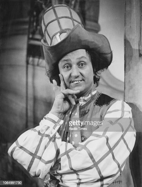 Portrait of comedian Ken Dodd in costume, photographed for Radio Times in connection with the BBC pantomime 'Robinson Crusoe', November 13th 1970.