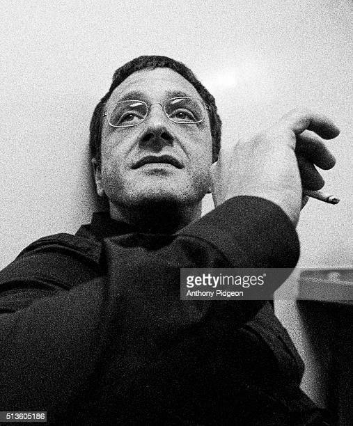 Portrait of comedian Marc Maron backstage at The Webby Awards in San Francisco California United States on 18th March 1999