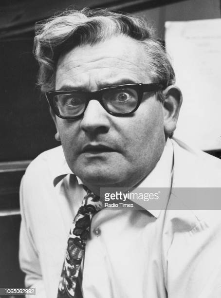 Portrait of comic actor Ronnie Barker January 17th 1971