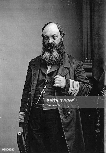 Portrait of Commodore William D Porter circa 1850s