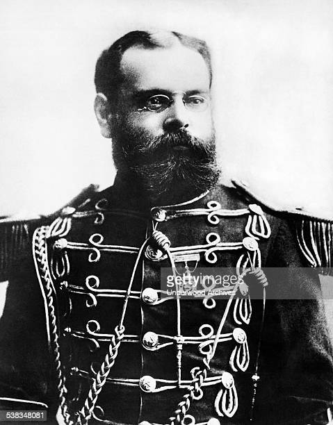 Portrait of composer and conductor John Philip Sousa at the Chicago World's Fair Chicago Illinois 1893 He was best known for his martial and...