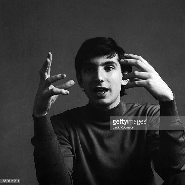 Portrait of conductor Michael Tilson Thomas, 1960s.
