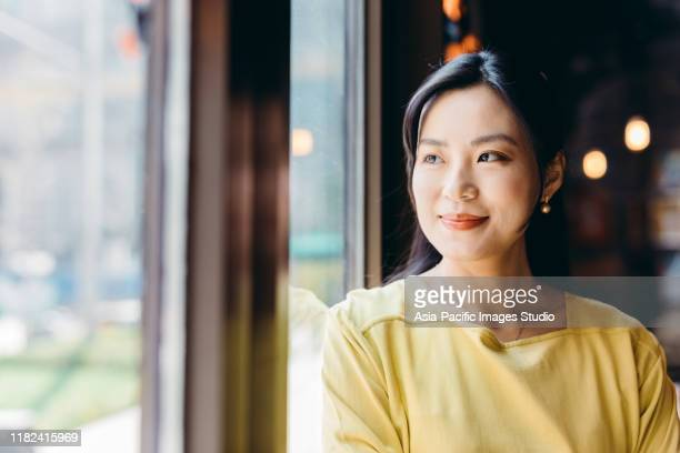 portrait of confident asian businesswoman. - korean culture stock pictures, royalty-free photos & images