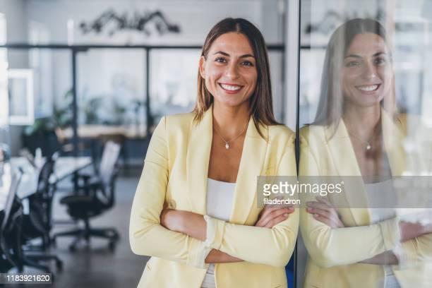portrait of confident business woman - success stock pictures, royalty-free photos & images