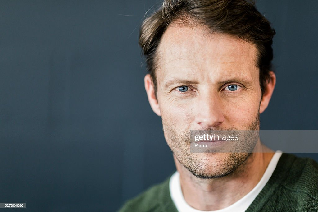 Portrait of confident businessman at office : Stock Photo