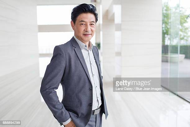 Portrait of confident businessman