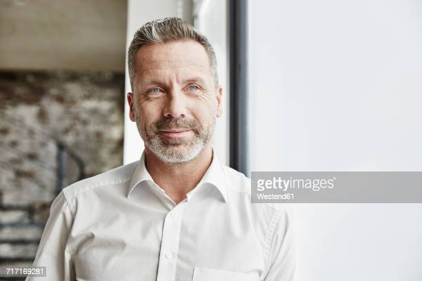 portrait of confident businessman - 45 49 jahre stock-fotos und bilder