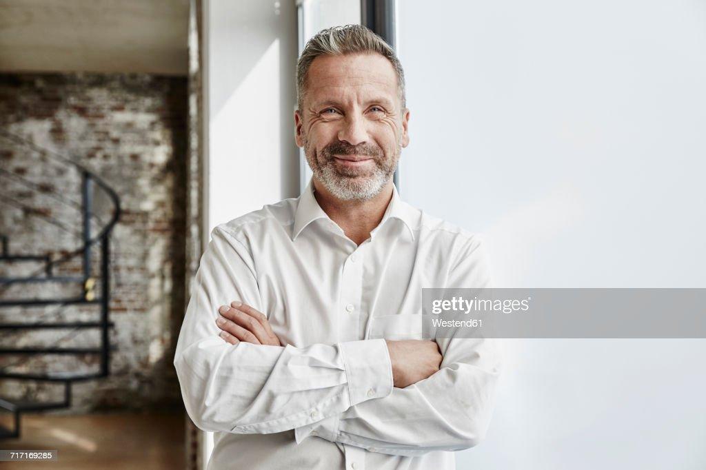 Portrait of confident businessman : Stock-Foto