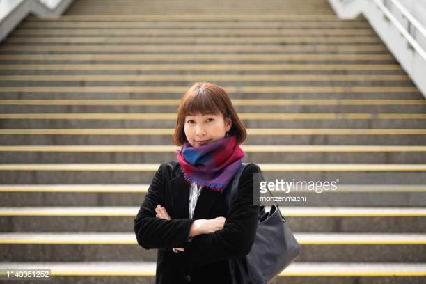 自信ビジネスウーマンの肖像 - 30代の女性 ストックフォトと画像