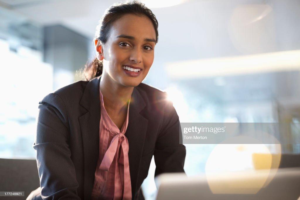 Portrait of confident businesswoman : Stock Photo