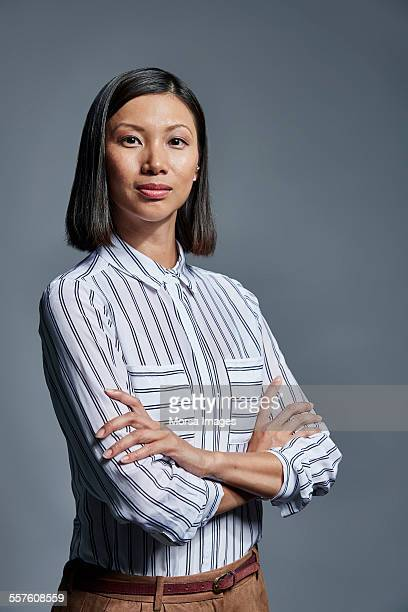 Portrait of confident businesswoman