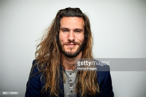 Pictures of males with long hair