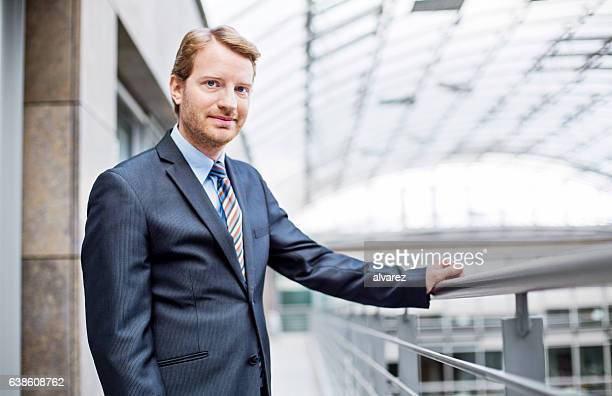 Portrait of confident mature business man