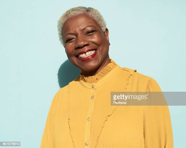 Portrait of confident mature woman
