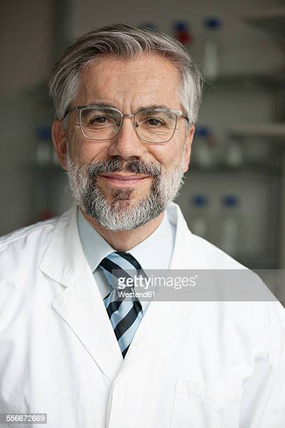 Portrait of confident scientist