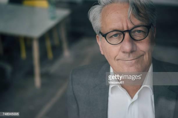 Portrait of confident senior businessman