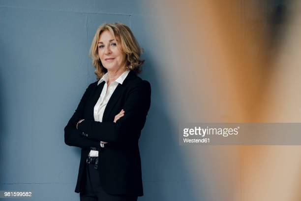 Portrait of confident senior businesswoman